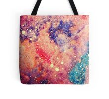 Nebula Print Tote Bag