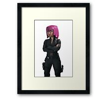 Archer - Black widow Framed Print