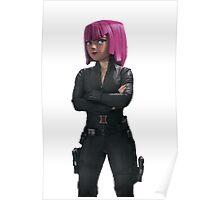 Archer - Black widow Poster