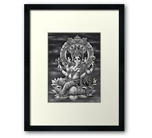 Ganesha the Great Framed Print