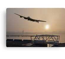 The Dambusters: last one home Canvas Print