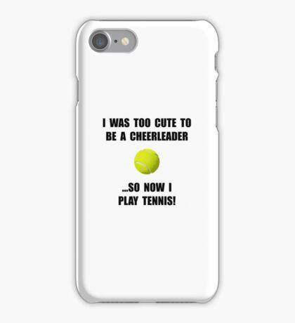 Cheerleader Tennis iPhone Case/Skin