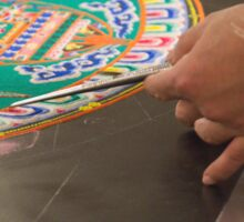 Sand mandala Sticker