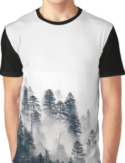 Trees in the Mist Graphic T-Shirt
