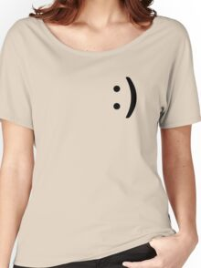 Smile Icon Women's Relaxed Fit T-Shirt