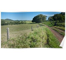 Country Road - Atherton Tableland Poster