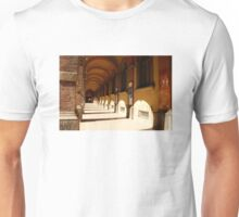 The porticos of the old city Unisex T-Shirt