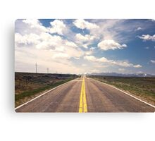 Endless Highway Canvas Print
