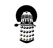 Dr. Who 2-Tone Abstract Dalek by Ged J