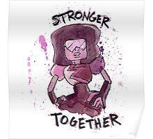 Garnet - Stronger Together Poster