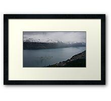 Earnslaw Steamship, Lake Wakatipu Framed Print