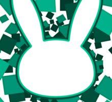 Love bunny dVa  Sticker