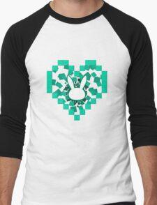 Love bunny dVa  Men's Baseball ¾ T-Shirt