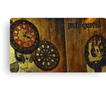 Pub game Canvas Print