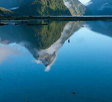 Mitre Peak, Fiordland by Tim Burgess