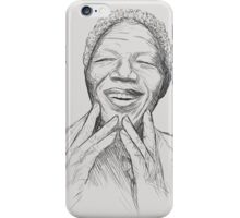 Nelson Mandela 2 iPhone Case/Skin