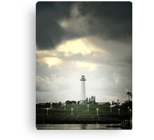 Lions Lighthouse Canvas Print