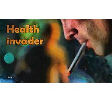 Health invader Photographic Print