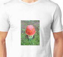 Red Spotted Mushroom Photo Unisex T-Shirt