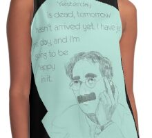 Groucho Marx Contrast Tank