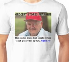 GROCERY STORES FEAR HIM Unisex T-Shirt