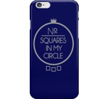 No Squares Yankee Gray  iPhone Case/Skin