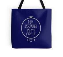 No Squares Yankee Gray  Tote Bag