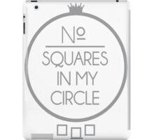 No Squares Yankee Gray  iPad Case/Skin