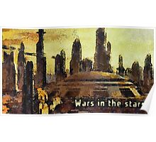 Wars in the stars Poster