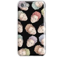 Colorful Tilda Heads iPhone Case/Skin