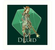 Dungeons and Dragons Druid Art Print