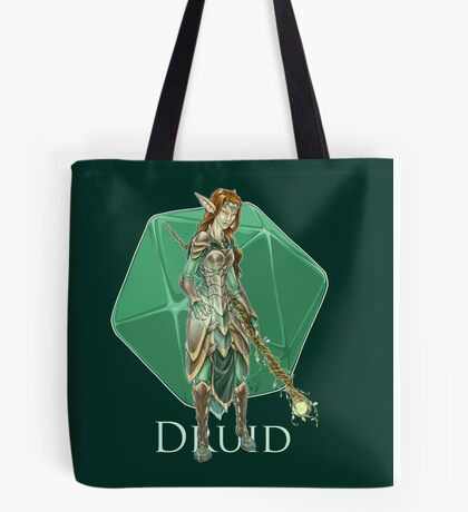 Dungeons and Dragons Druid Tote Bag