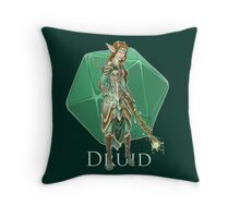 Dungeons and Dragons Druid Throw Pillow