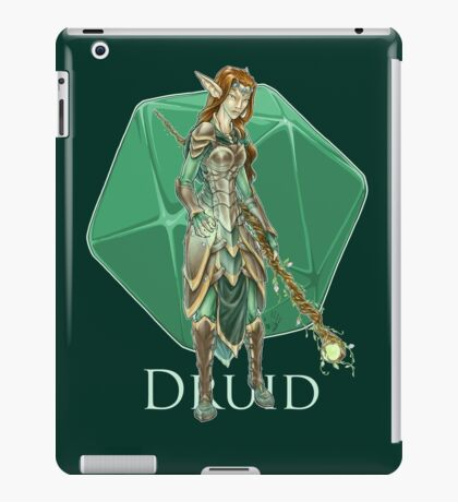Dungeons and Dragons Druid iPad Case/Skin