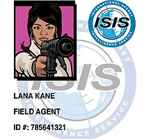 Lana Isis Badge by thewavve