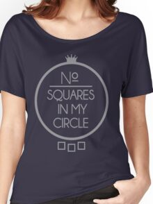 No Squares Yankee Gray  Women's Relaxed Fit T-Shirt
