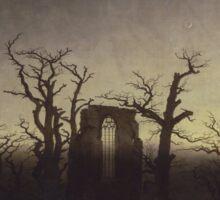 Spooky Landscape Sticker