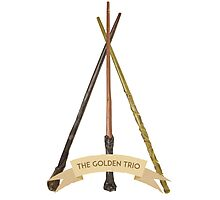 The Golden Trio Photographic Print