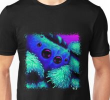The Terrifying Peacock Spyider! Unisex T-Shirt