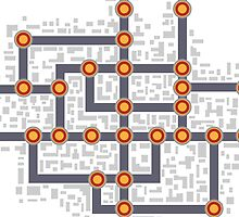 Subway map by Alexzel