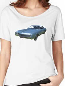 Blue Buick Riviera Women's Relaxed Fit T-Shirt