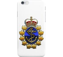 Canadian Forces Naval Operations Logo iPhone Case/Skin