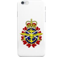 Canadian Forces (CF) Logo iPhone Case/Skin