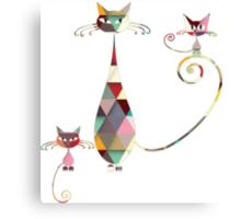 COLORFUL  CAT Canvas Print