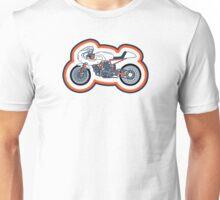 Vintage Cafe Racer Coloured Unisex T-Shirt