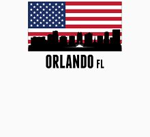 Orlando FL American Flag Unisex T-Shirt