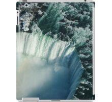 Flying Over Icy Niagara Falls iPad Case/Skin