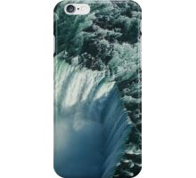 Flying Over Icy Niagara Falls iPhone Case/Skin