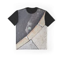 Leaf on the Sidewalk Graphic T-Shirt