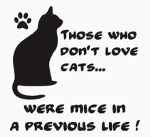 Everyone loves cats (B) Baby Tee